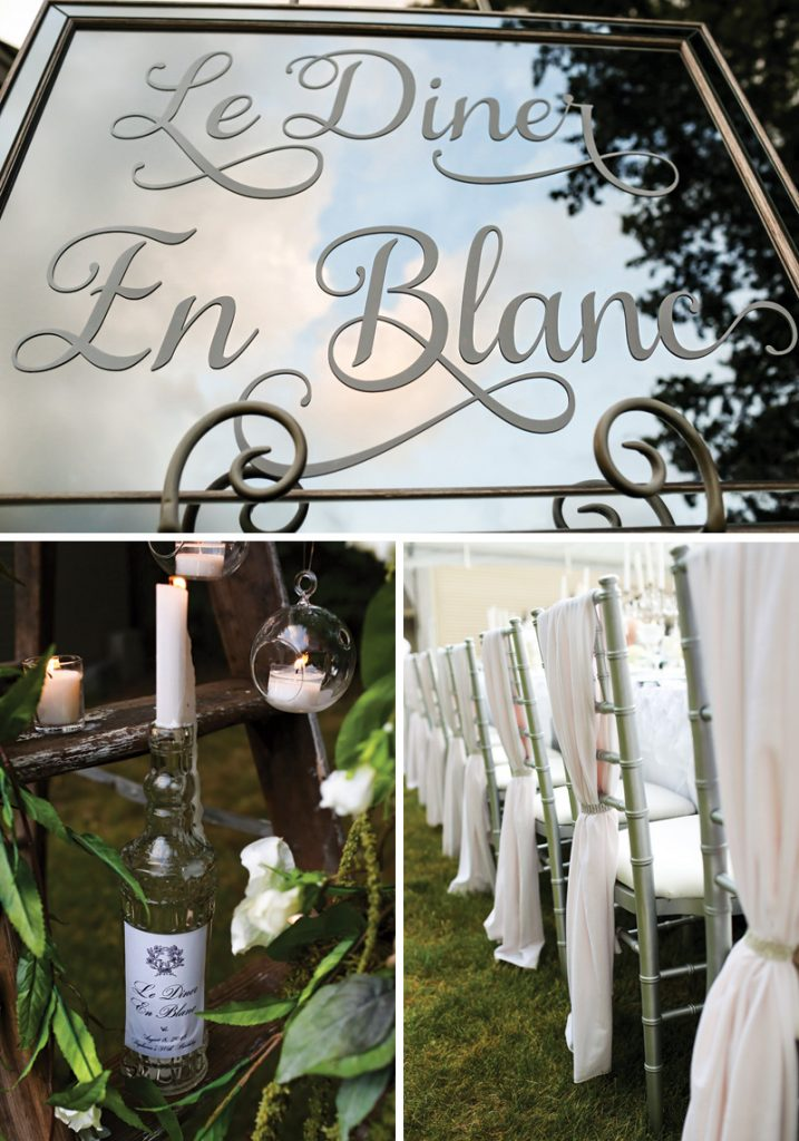 le diner en blanc all white birthday party