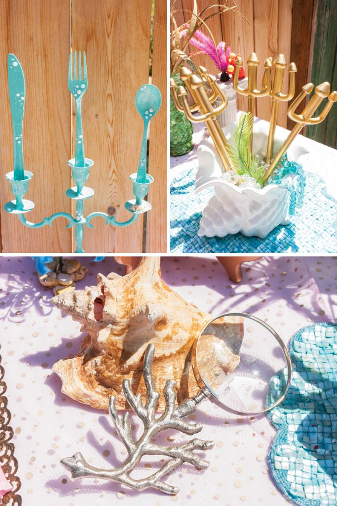 little mermaid birthday party decor ideas