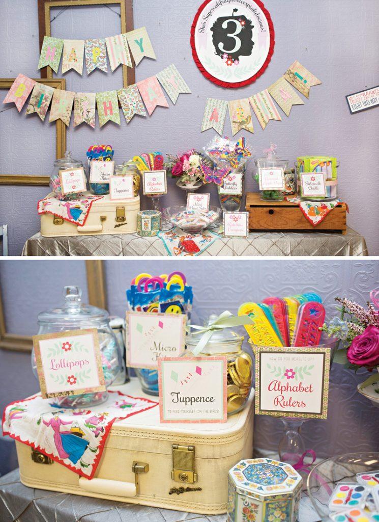 mary poppins themed birthday party