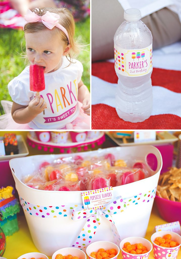popsicle birthday party printables