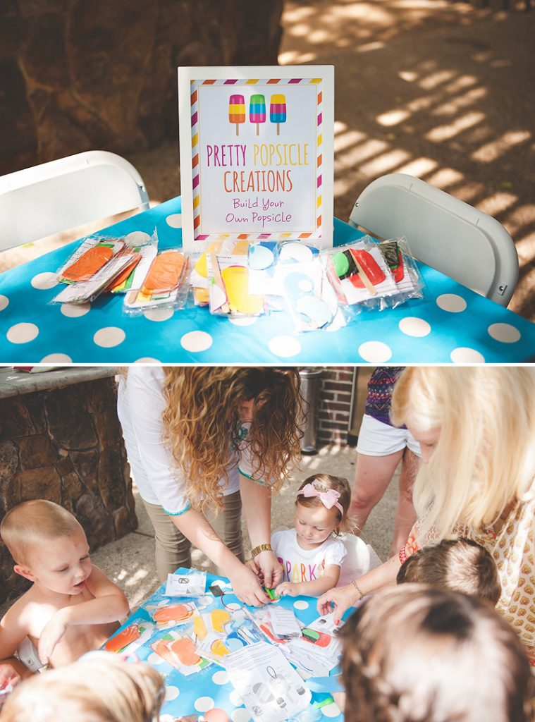popsicle party craft