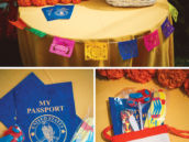passport sticker book party favors