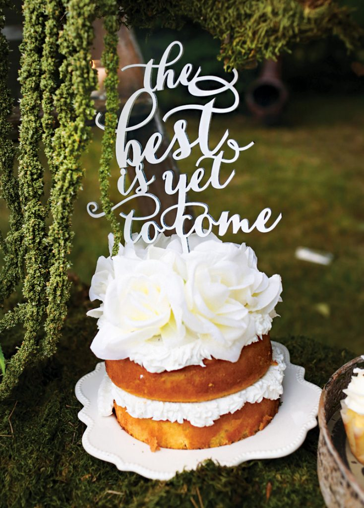 the best is yet to come birthday cake topper
