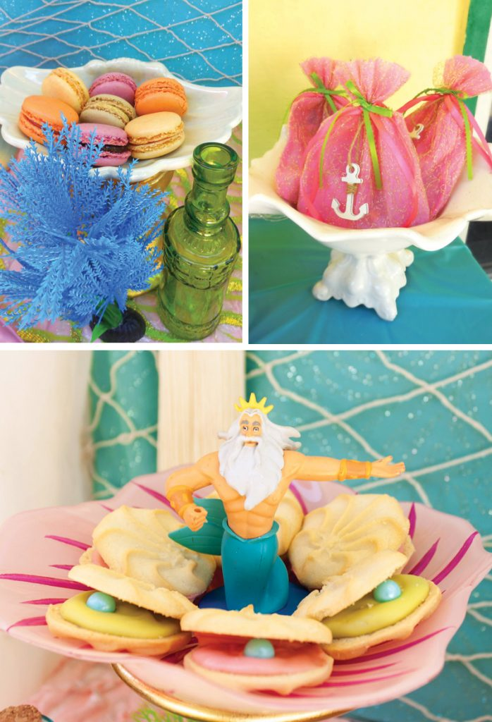 under the sea themed party treats
