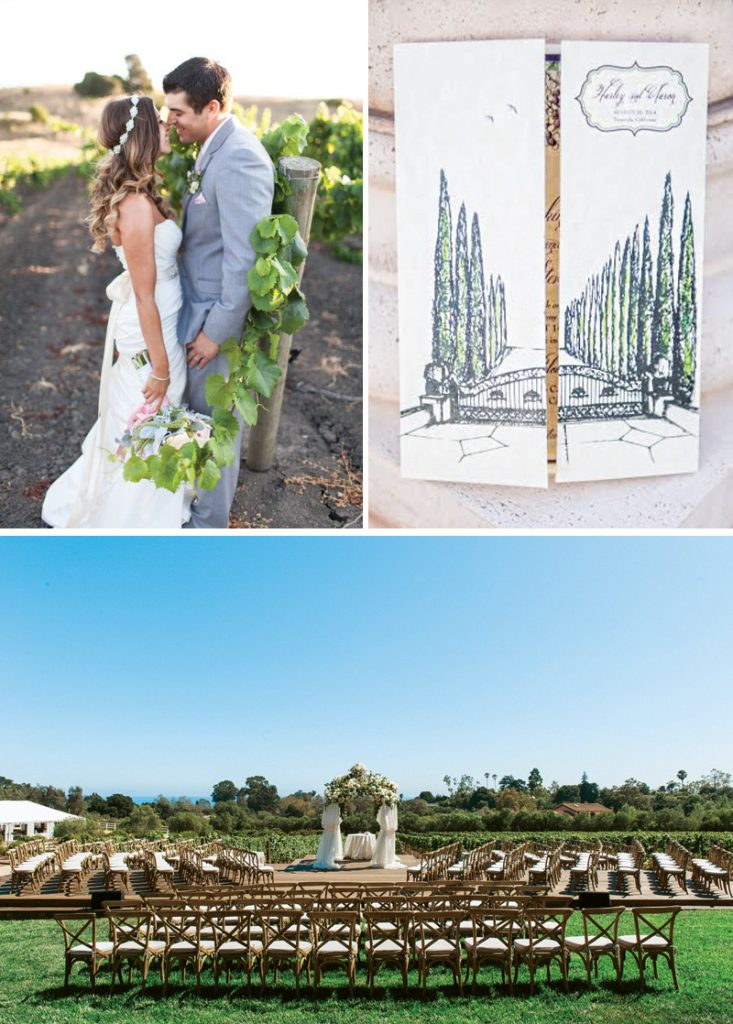15 Pretty Vineyard Wedding Details {Inspiration Round-Up}