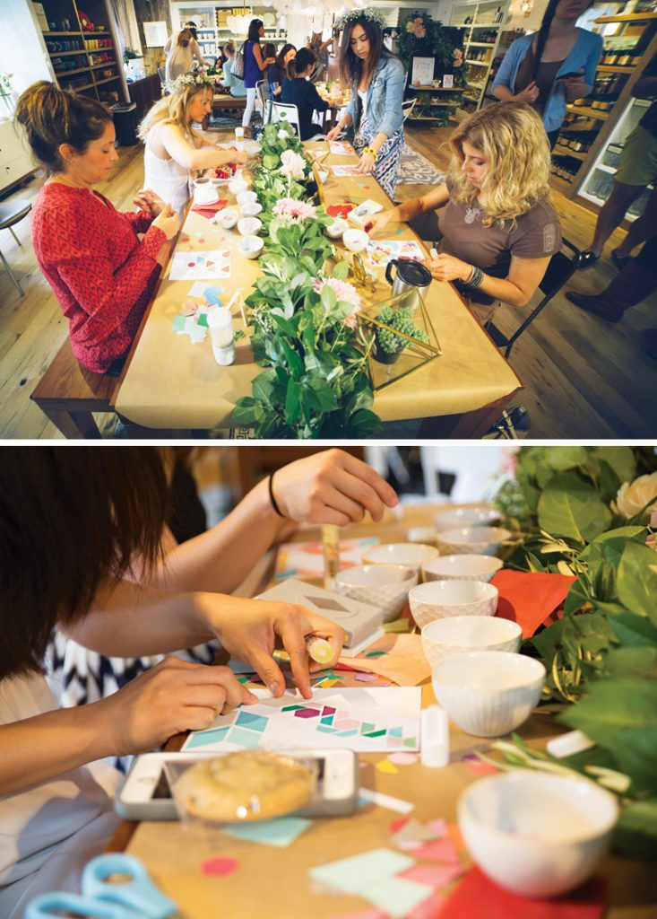 women's arts and crafts party ideas