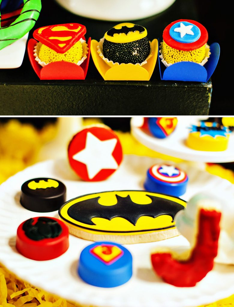 superhero birthday party ideas