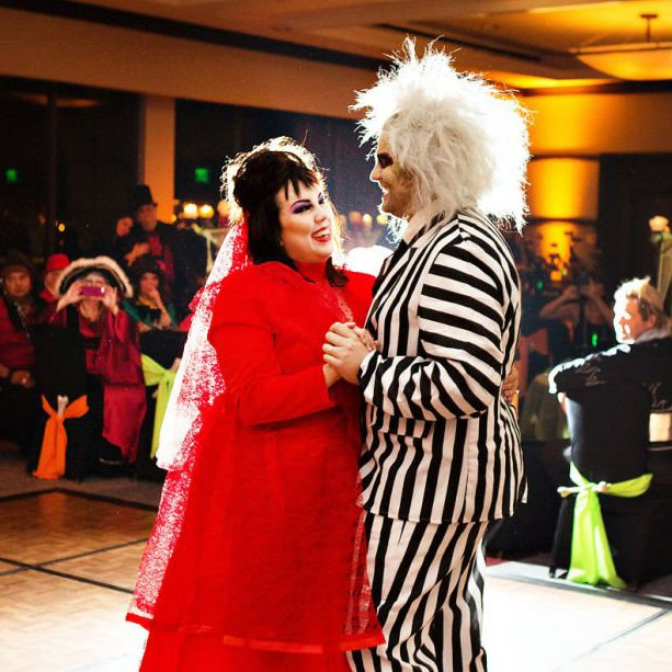 Haunted Halloween Costume & Anniversary Party