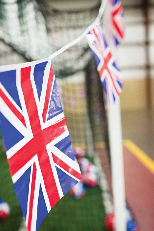 british flag garland