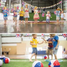 british futball themed birthday party