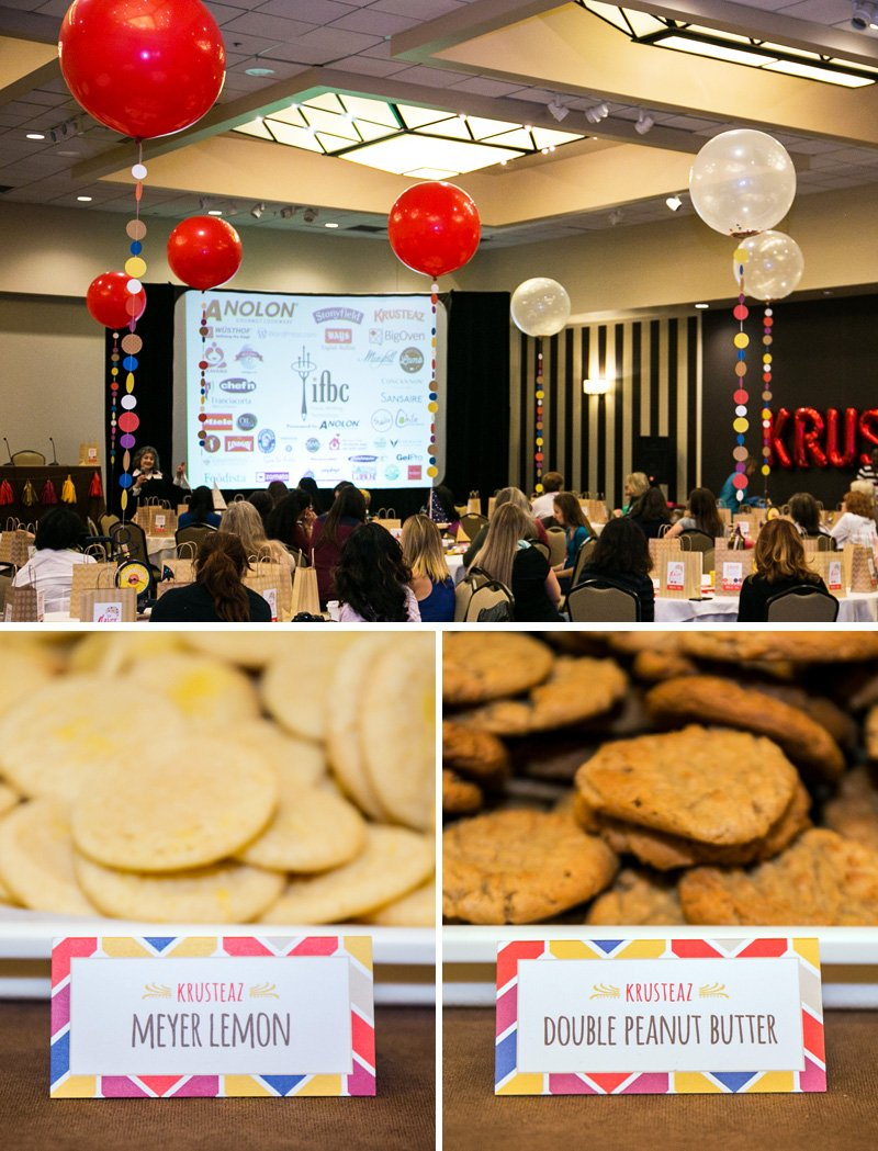 krusteaz cookie crafting session at IFBC