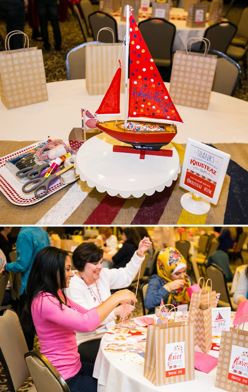 cookie crafting party - sailboat cookie crafts