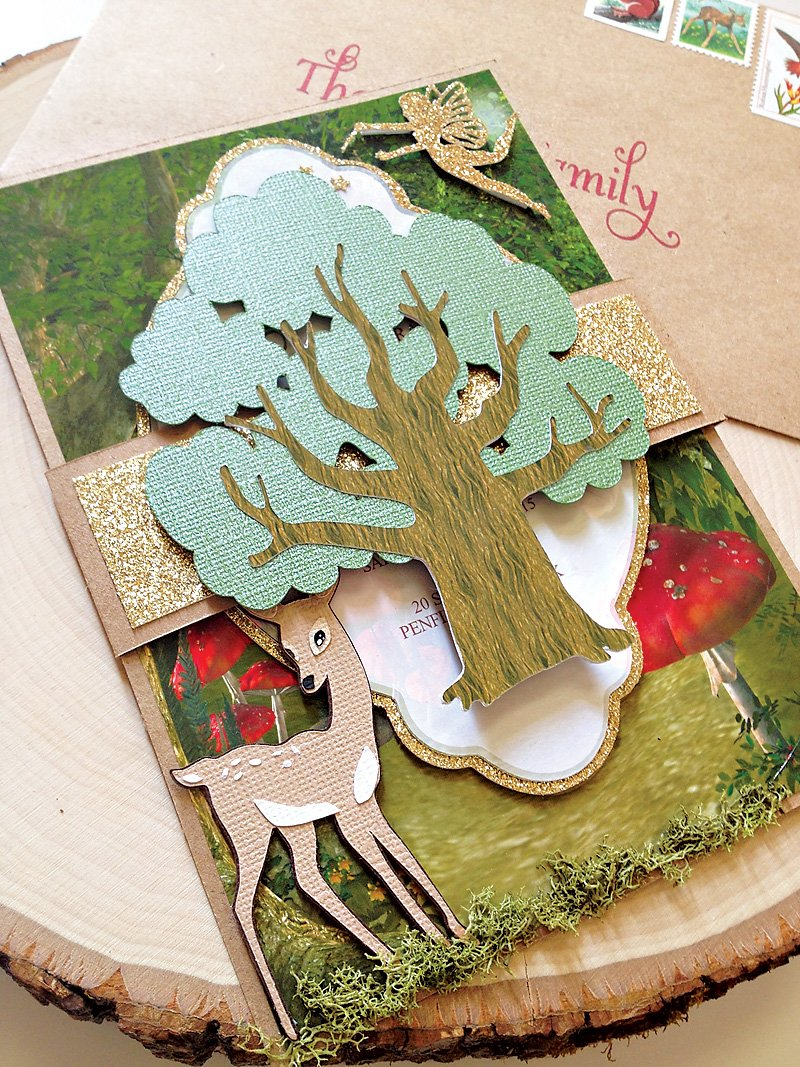 forest party invitation