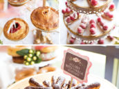 french inspired wedding desserts