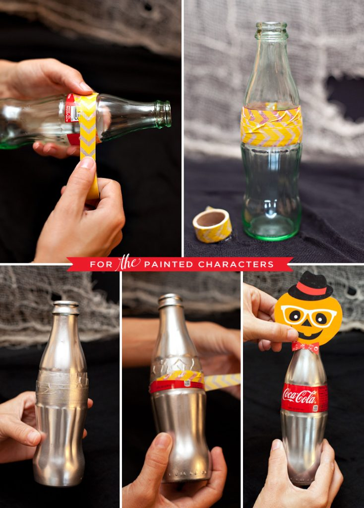 Halloween Coke Bottle Craft