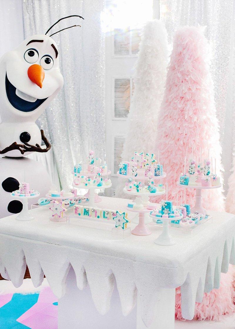 frozen birthday party ideas