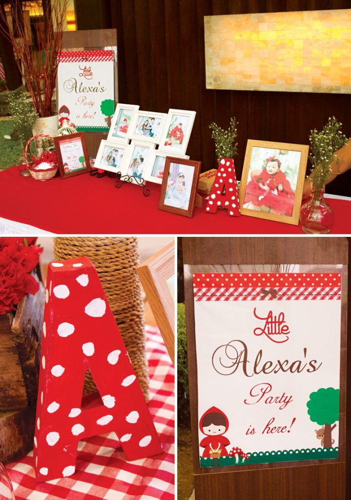 little red riding hood first birthday party ideas