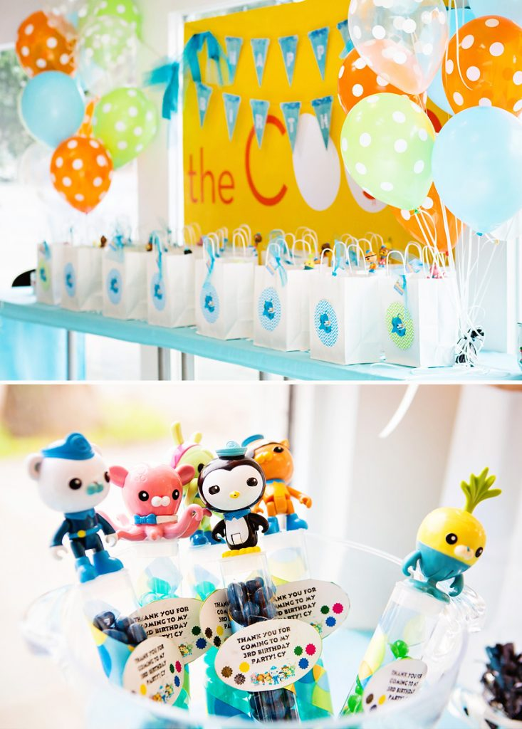 octonauts birthday party ideas