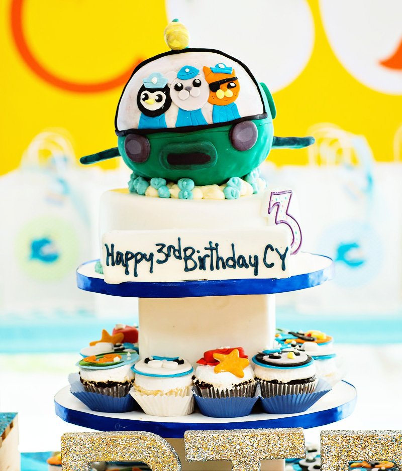 Octonauts idéias do partido de aniversário