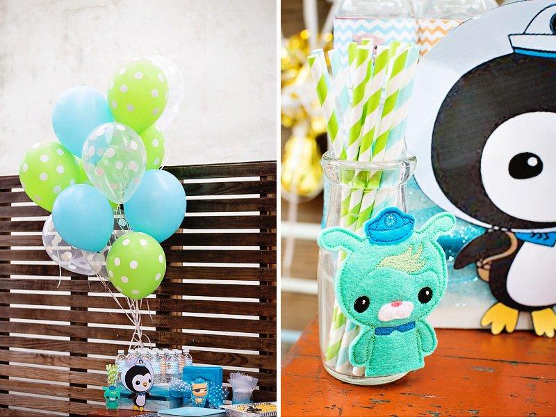 Spectacular & Bright OCTONAUTS Birthday Party // Hostess