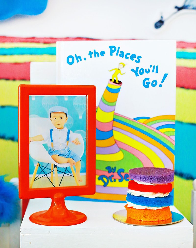 oh the places you'll go dr. seuss party