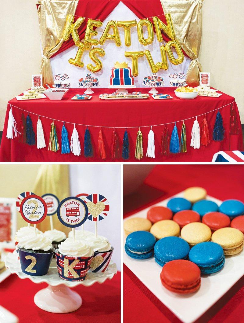 royal british prince birthday party