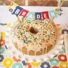 sprinkled bundt donut cake