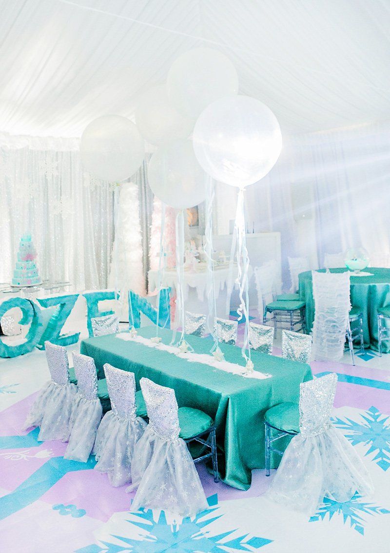 Over The Top Frozen Birthday Party Part 2 Ice Castle
