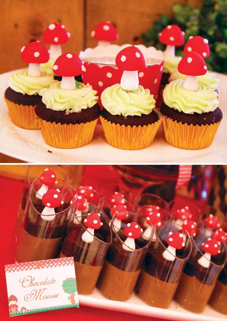 toadstool desserts