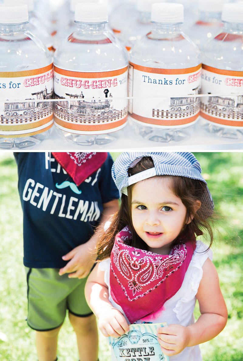 train-themed-party-favors