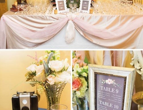 A Sweet + Vintage-Glam, Travel Inspired Wedding
