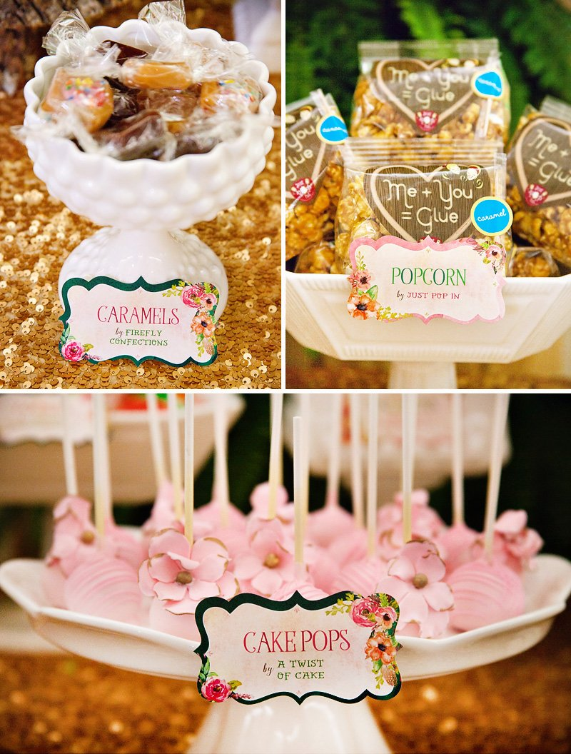 fairytale forest baby shower