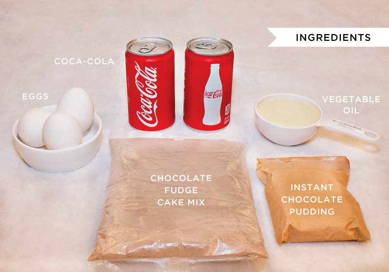 Easy Coca-Cola Cake Ingredients