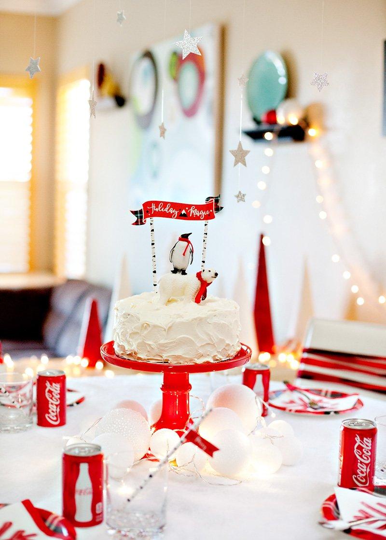 Penguins & Polar Bears Holiday Party Table