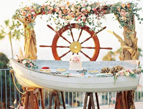 Beautiful Nautical Wedding Inspiration {Round-Up}