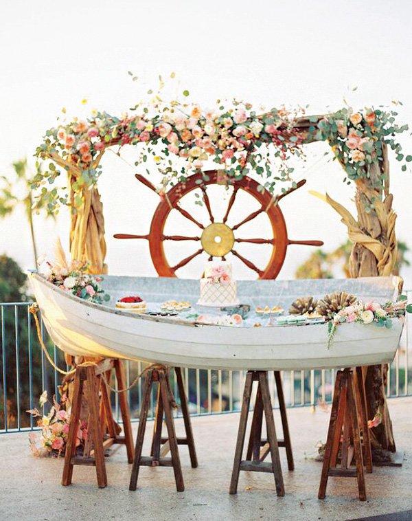 Beautiful Nautical Wedding Inspiration {Round-Up}