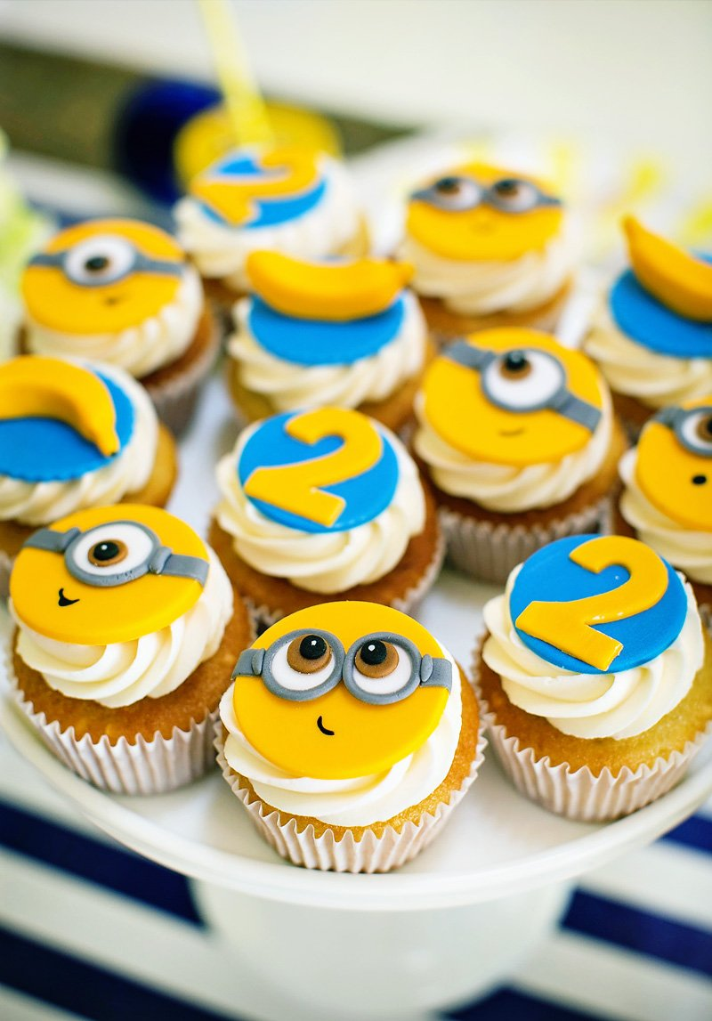 Modern Amp Bright Quot One In A Minion Quot Themed Birthday Party