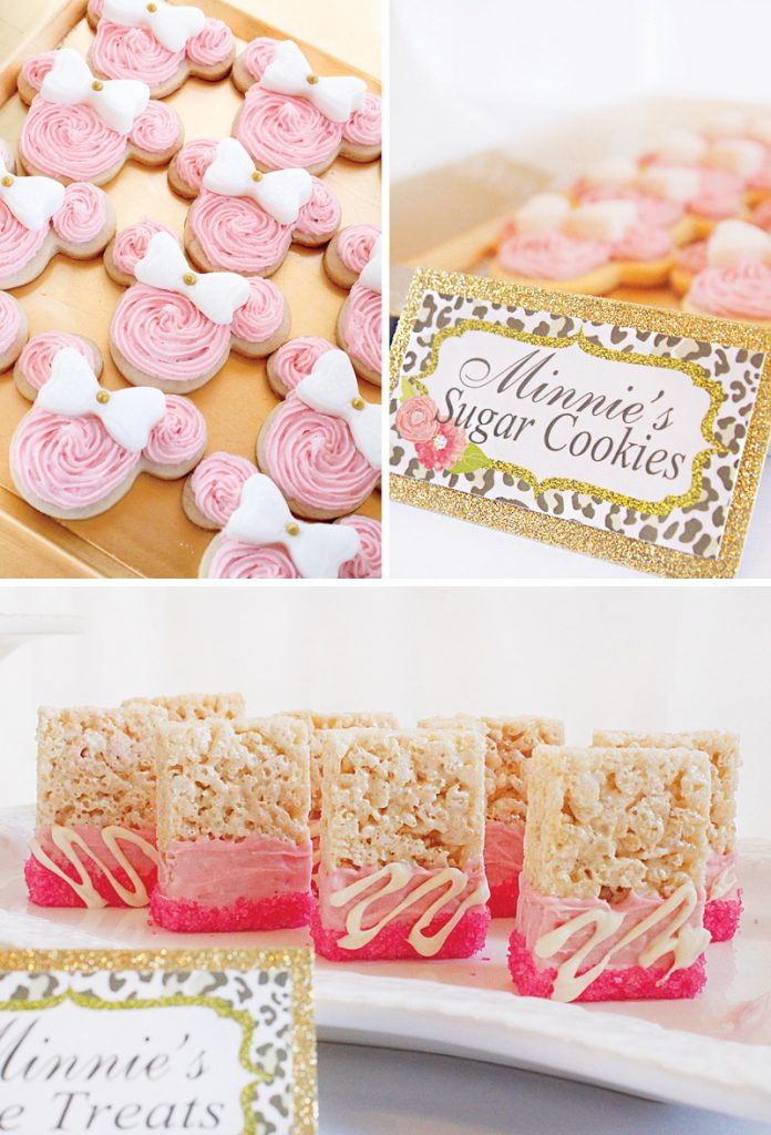 pink minnie mouse sugar cookies