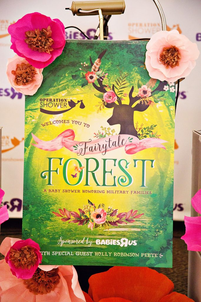 fairytale forest operation shower event recap