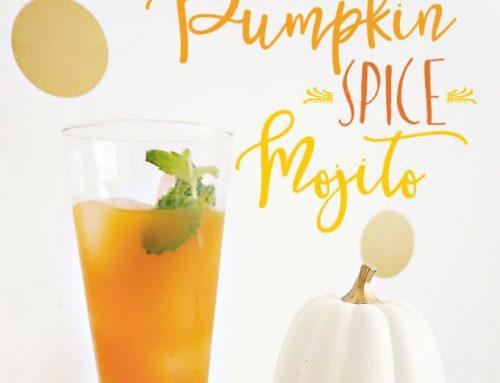 Fall Cocktail Idea: Pumpkin Spice Mojito {Recipe}