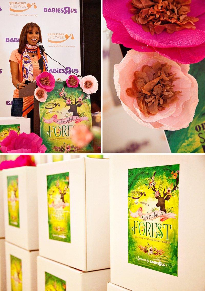 fairytale forest operation shower event recap