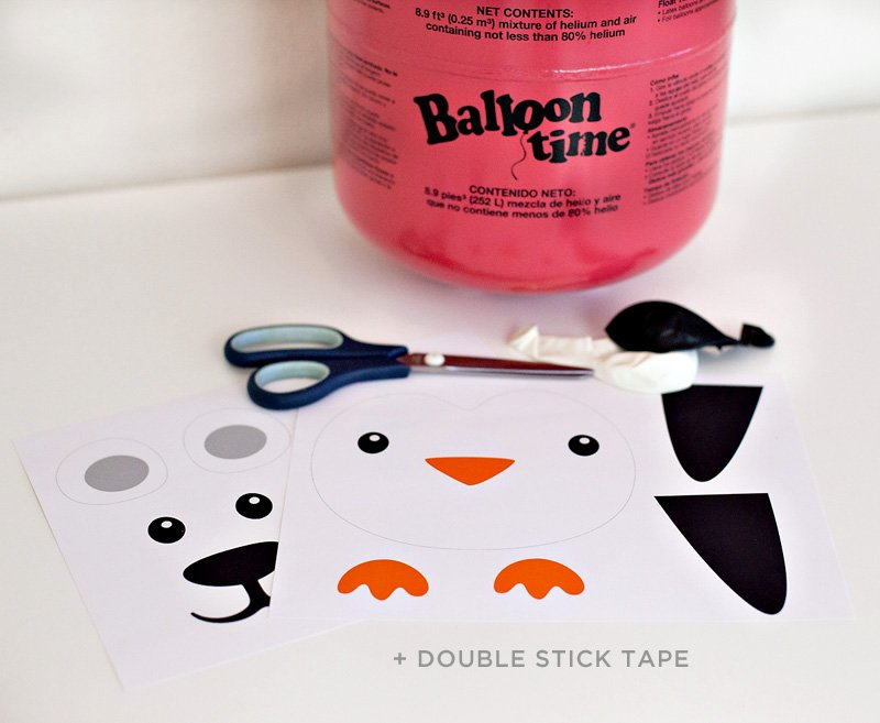 Party Animal Balloon Materials