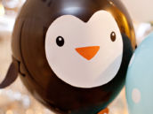DIY Penguin Party Balloons
