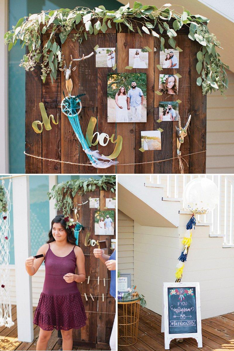 baby-shower-photo-board