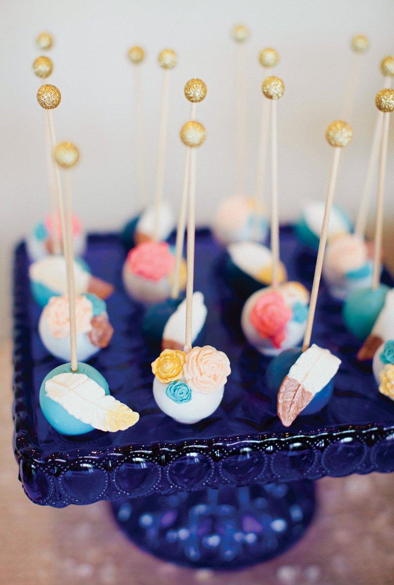 boho-chic-feather-cake-pops