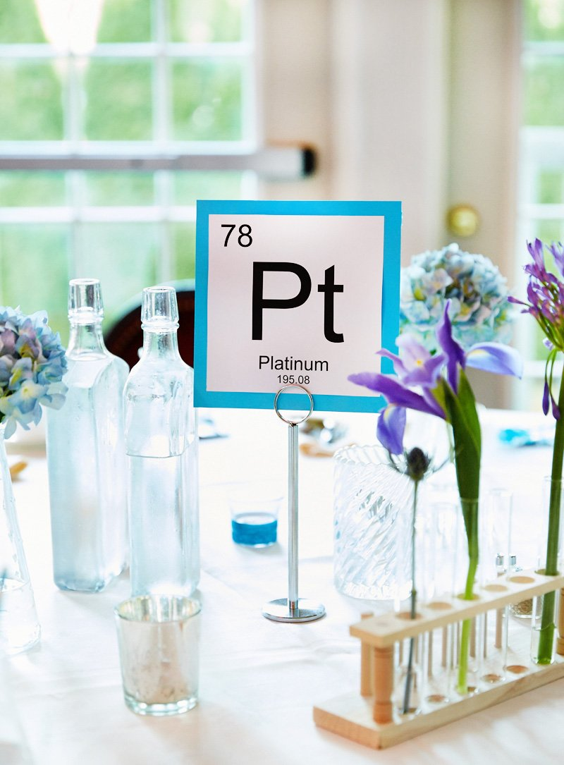 Chic & Creative Chemistry-Inspired Bridal Shower // Hostess with the ...