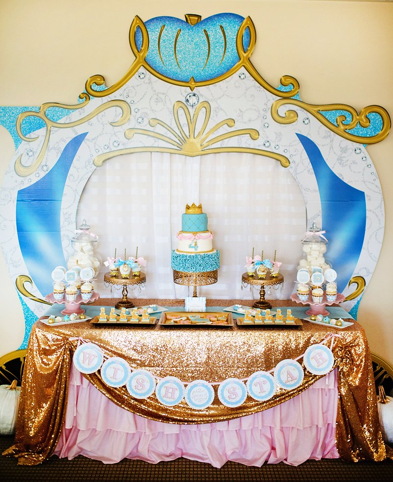"""A Dream Come True"" Glamorous Cinderella Birthday Party ..."