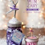 DIY Sugar Plum Fairy Gift Jars and Favor Jars