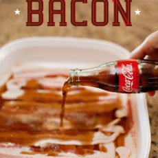 Coke Soaked Bacon