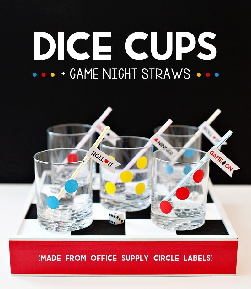 DIY Dice Cups for Game Night